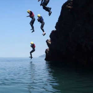1 Coasteering Session - £40 p.p.