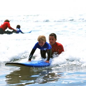 1 KID'S Surf Lesson - £35 p.p.
